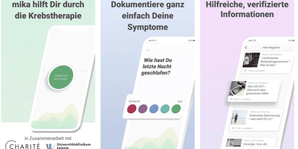 Positiver Effekt: ein Krebstagebuch als App