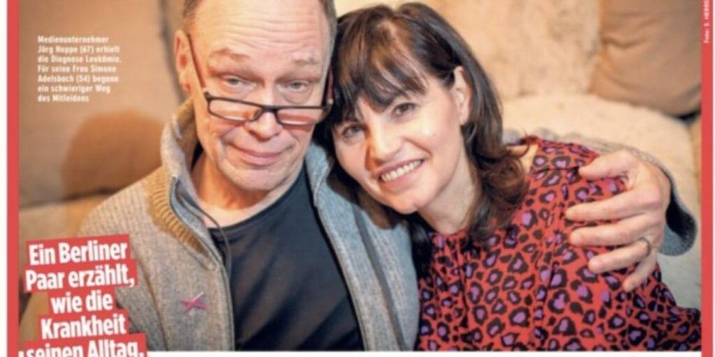 yeswecan!cer Initiator Jörg A. Hoppe und seine Frau Simone Adelsbach im großen BZ Interview