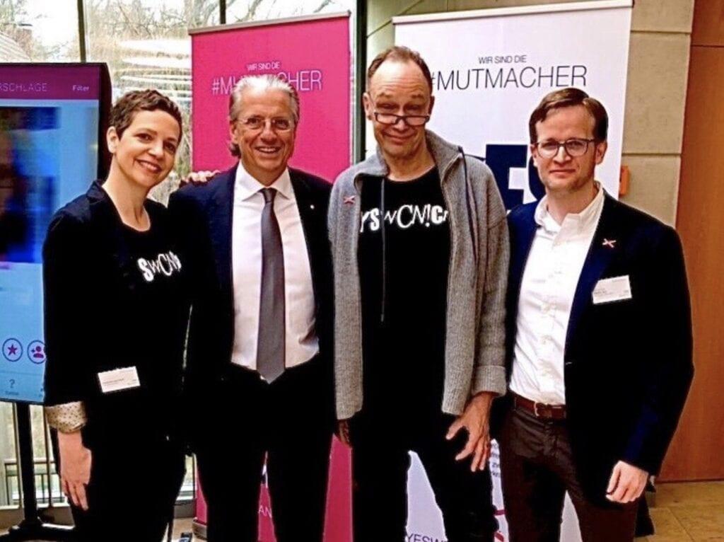Alexandra von Korff, Prof. Dr. Jochen Werner, Joörg A. Hoppe, Prof. Dr. Martin Glas