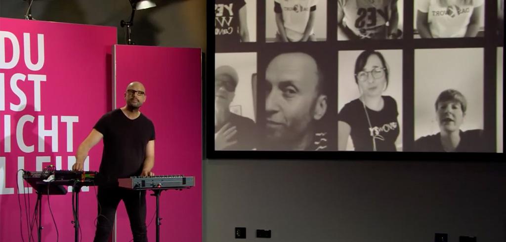 Soundvisionär Christopher von Deylen / SCHILLER live auf der YES!CON 2020