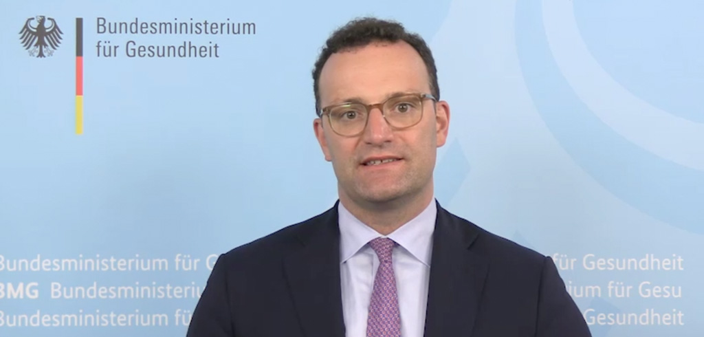 Bundesgesundheitsminister Jens Spahn auf der YES!CON