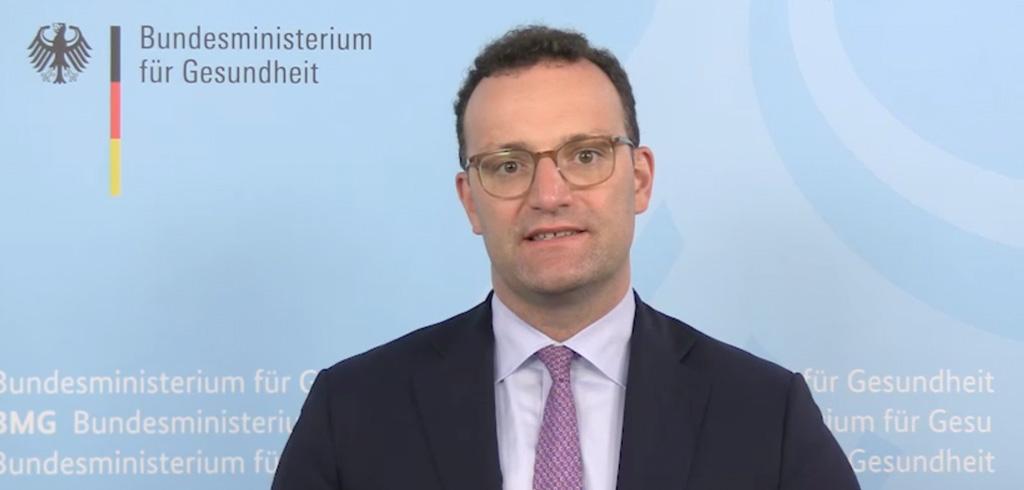 Bundesgesundheitsminister Jens Spahn zur YES!CON 2020 von yeswecan!cer