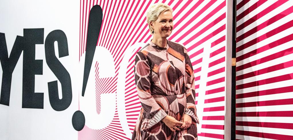 Manuela Schwesig, Ministerpräsidentin des Landes Mecklenburg-Vorpommern, auf der YES!CON 2020 von yeswecan!cer