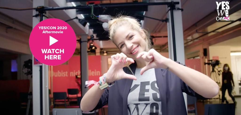 Aftermovie YES!CON 2020 – Susan Sideropoulos auf der YES!CON 2020 von yeswecan!cer