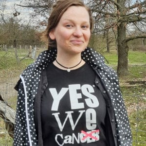 Alina – Supporterin yeswecan!cer