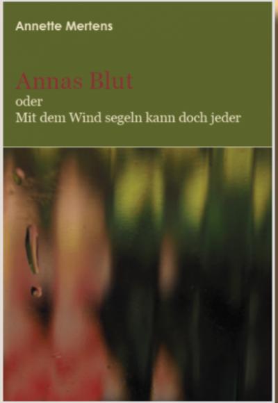 Cover Annas Blut, Annette Mertens, Simon Verlag f. Bibliothekswissenschaften, 2021