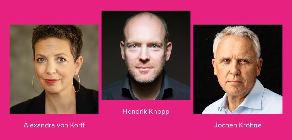 Hendrik Knopp - yeswecan GmbH & Co. KG - Alexandra von Korff - Jochen Kröhne - yeswecan!cer gGmbH - yeswecan!cer Geschäftsführer - News