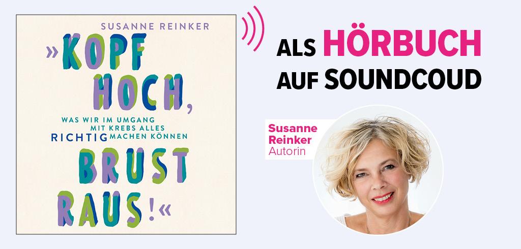 """Hörbuch """"Kopf hoch, Brust raus!"""" von Susanne Reinker auf Soundcloud"""